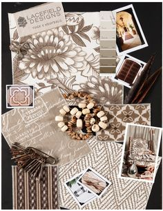 Lacefield Designs Tusk #textile #moodboard  www.lacefielddesigns.com
