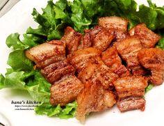 蒜香胡椒燒肉片食譜、作法 | hanaskichen的多多開伙食譜分享