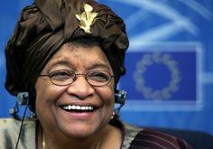 Ellen Johnson Sirleaf, president of Liberia, social activist, Nobel Peace Prize winner