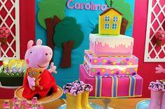 Aniversário Tema da Peppa Pig | Coisas da My [ Cat: festas aniversario ]