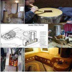 Le Rocket stove : Le rocket stove est poêle de masse, à combustion propre, au rendement élevé, et fabriqué avec une majorité de matériaux recyclés ou naturels ((...)