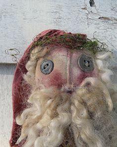 Santa by Baggaraggs on Etsy