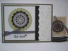 CC155 Boho Scallops by Emma F - Cards and Paper Crafts at Splitcoaststampers