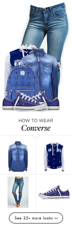 """Untitled #613"" by keketruu on Polyvore featuring moda, Boohoo, Dsquared2, MCM e Converse"