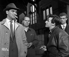 Stanley Baker plays the tough copper in Hell Is A City. 1960