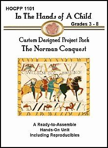 The Norman Conquest Lapbook - Hands of a Child |  | HistoryCurrClick