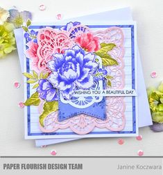 Seven Paper Dolls Die set - Filigree Frame 15 Outline Images, Peony Painting, Peonies Bouquet, Small Leaf, Altenew, Flourish, Beautiful Day, Paper Cutting, Paper Dolls