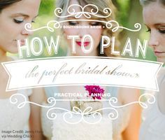 How to Plan the Perfect Bridal Shower {Plus Printable Timeline}   Wedding Tips & Tutorials http://www.pinterest.com/modestbride/