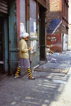 Helen Levitt (1913 – 2009) was an American street photographer