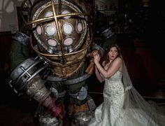 Experience The Rapture Of This 'BioShock' Wedding