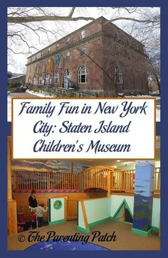 Family Fun in New York City: Staten Island Children's Museum | If you ever find yourself in the Staten Island area of New York with kids, I highly recommend the Staten Island Children's Museum on the grounds of Snug Harbor Cultural Center & Botanical Gard