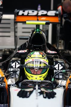 Ready to race? Force India, One Team, Formula One, F1, Racing, Sports, Running, Hs Sports, Auto Racing