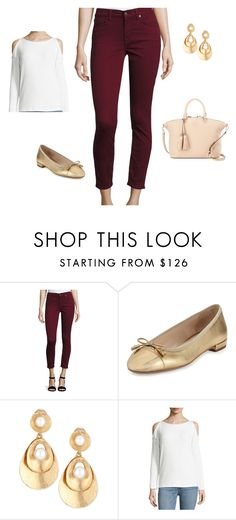 """""""Berry Jeans"""" by herstyleandgrace on Polyvore featuring 7 For All Mankind, Prada, Oscar de la Renta, Splendid and Tory Burch"""
