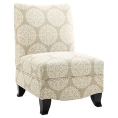 Found it at Wayfair - Donovan Accent Chair in Gabrielle Pearl.Livingroom with beige couch.