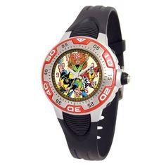 Marvel Comics Kids' MA0108-D543-Red Marvel X-Men Spectrum Watch Marvel Comics. $29.00. Save 17%!