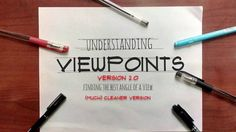 Focusing on Viewpoints version 2 (with vanishing points version). This is the sixth among the understanding perspectives series. Sketches Tutorial, Sketching, Sketch, Sketches, Tekenen