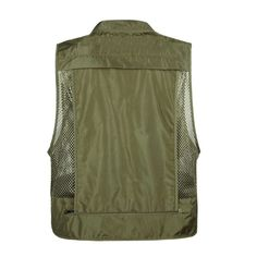 Summer Outdoor Sleeveless Fishing Bag Military Tactical Mesh Vest Men Multi Pockets Vest Shooting Coat 2019 New Vest XA82G-in Fishing Vests from Sports & Entertainment on Aliexpress.com | Alibaba Group Fishing Vest, Fish In A Bag, Vest Men, Alibaba Group, Vests, Military, Entertainment, Pockets, Coat