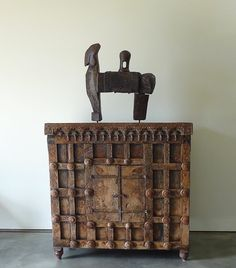 Ethnic Cabinet from India // Teak // Shop Prop // Display