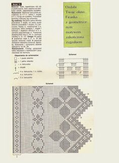 Crochet and arts: Curtains