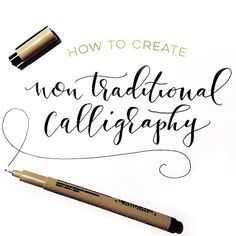 In this week's video tutorial, I share a little secret method I used when I started creating non traditional calligraphy (calligraphic lettering created with a regular pen) to get that 'bounce' to my letters. Link in profile!