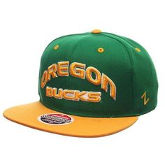 University of Oregon Ducks Zephyr Z11 Snapback Hat bed6d2407b02