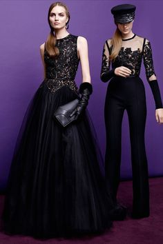The latest Elie Saab Pre-Fall 2015 collection.