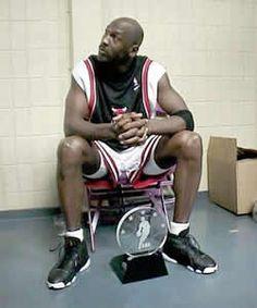 Jordan waiting to be interviewed
