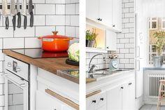 kis lakás, fehér, konyha Kitchen Island, Kitchen Cabinets, Interior, Design, Home Decor, Island Kitchen, Decoration Home, Indoor, Room Decor