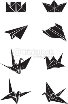 Origami Tattoo Plane Paper Cranes 30 Ideas For 2019 Origami Boot, Origami Plane, Origami Cube, Origami Envelope, Origami Fish, Origami Stars, Diy Origami, Origami Owl Keychain, Origami Bookmark