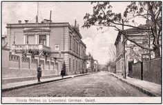 Strada Holban - Consulatul German Galați în anul 1900 • Știrile Galațiului Romania, German, Louvre, Building, Painting, Travel, Deutsch, Viajes, German Language