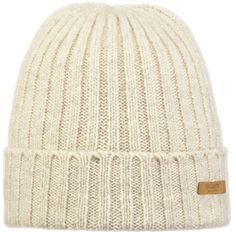 The Barts Silje beanie is made from virgin wool that's spun or woven for the first time. It's extra soft.
