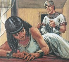 potipher angry with joseph - Google Search