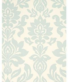 Laura Ashley Hampstead Wallpaper - Duck Egg