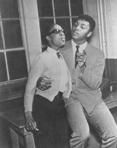 Stevie Wonder and Muhammad Ali BLACK POWER!
