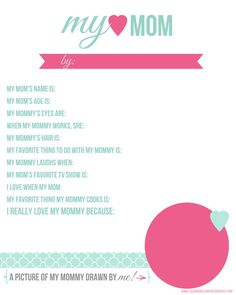 for mother's day-im gonna do this with my day care kids for their moms