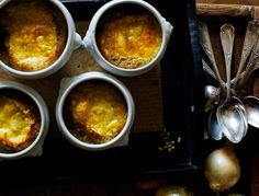 French Onion Soup....Don't rush the browning of the onions—it's essential to the finished soup's flavor.