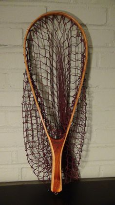 Vintage Fishing Net / Trout Net / Fly Fishing Net / Catskill Fishing Net