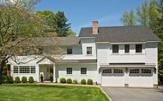 15 Quarry Lane Bedford, NY 10506 is for sale. Charming Bedford Village colonial, light and bright, on lovely park-like property. Garage Doors, Real Estate, York, Mansions, House Styles, Outdoor Decor, Home Decor, Decoration Home, Manor Houses
