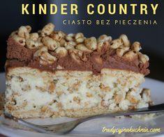 Kinder country ciasto bez pieczenia