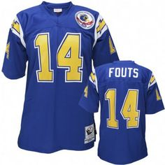 NFL  14 Team Color Dan Fouts San Diego Chargers jersey ID 80982779  20 b73e40cb4
