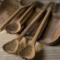 There is something about wooden cooking utencils that inspires me to cook.