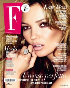 Covers of F with Kate Moss, Nov 2012