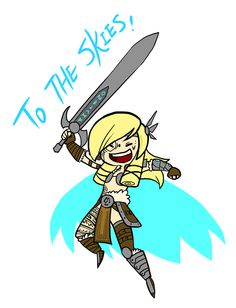 Smite - To the skies (Chibi) by Zennore on DeviantArt