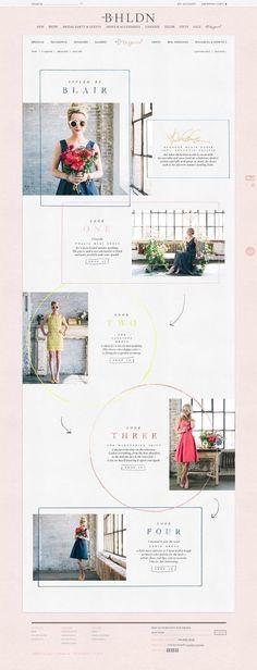 BHLDN  fashion website design