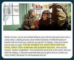 Harry Potter being a badass
