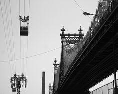Manhattan (NYC), New York City, Queensboro Bridge (NYC), Roosevelt Island Tram (NYC), Upper East Side (NYC)