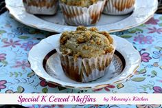 Mommy's Kitchen: Special K Cereal Muffins Best Chocolate Cupcakes, Chocolate Buttercream, Buttercream Frosting, Special K Cereal, Apple Monkey Bread, Breakfast Smoothies, Breakfast Healthy, Breakfast Ideas, Healthy Eating