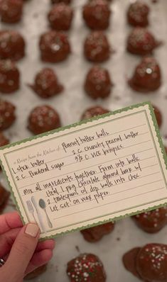 "Joanna Gaines ""Peanut Butter Balls"" Recipe Looks Kinda TerribleDelish Christmas Sweets, Christmas Cooking, Christmas Candy, Christmas Time, Christmas Ideas, Christmas Recipes, Christmas Baskets, Holiday Candy, Christmas Things"