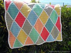 Faz bem aos olhos | Crochet - Crafts - Lifestyle: mantas
