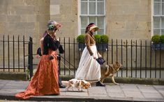 Bath, England-  True Pride and Prejudice diehards should plan a trip around the town's Jane Austen Festival, which features a Regency costume ball.